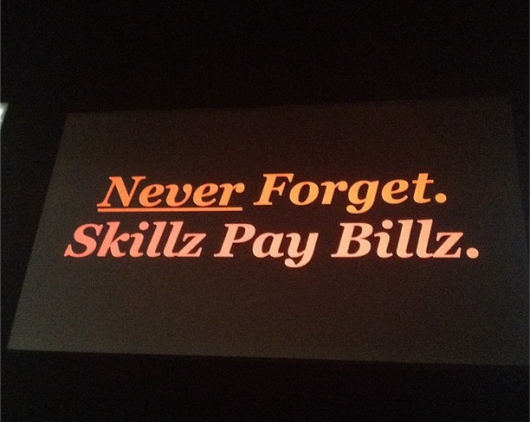 Skillz pay billz advice for designers