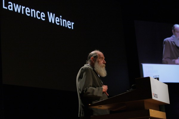 Lawrence Weiner: An Artist To The Core