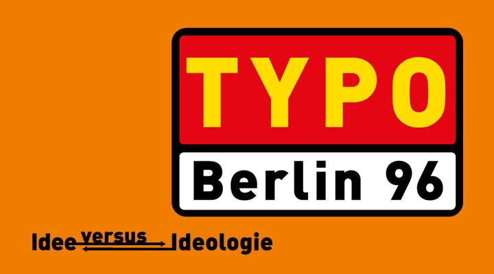 TYPO Berlin 96 -