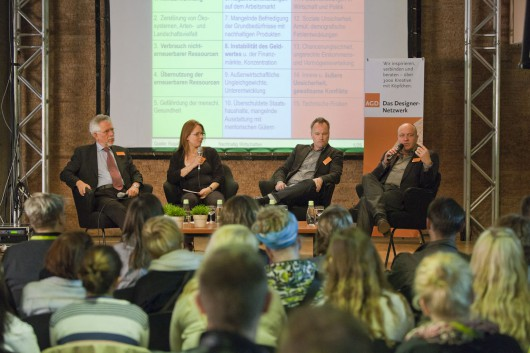 Panel Discussion with Karsten Henze, Prof. Dr. Holger Rogall, Alexander Körner, Victoria Ringleb