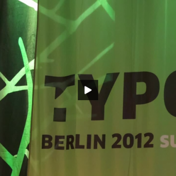 TYPO Berlin 2012 sustain Video