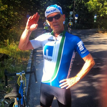 Cycling Erik Spiekermann