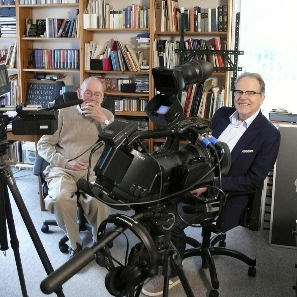 Exklusives Gerrit-Noordzij-Interview: Making-of