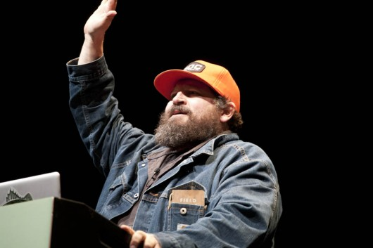 "Aaron James Draplin – ""Tall Tales From A Large Man"""