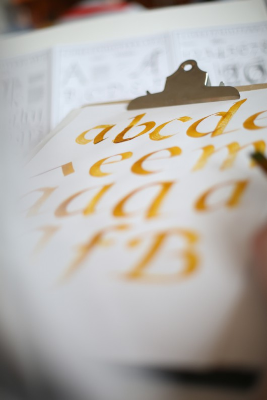 Workshop: Cancellaresca – the roots of our italics