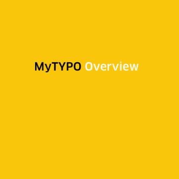 MyTYPO-Screenshot