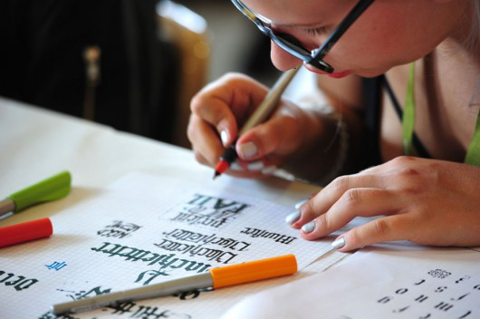 Workshop: On point – Intro to Blackletter Scripts