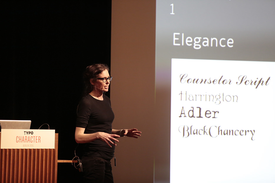 Sofie Beier: The typeface character