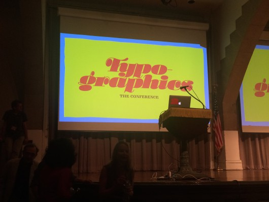Report from the first Typographics Conference in New York