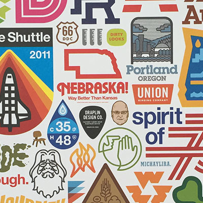 "Win 1 out of 5 Aaron James Draplin ""Pretty Much Everything Up To January 9, 2015″-Poster [closed]"
