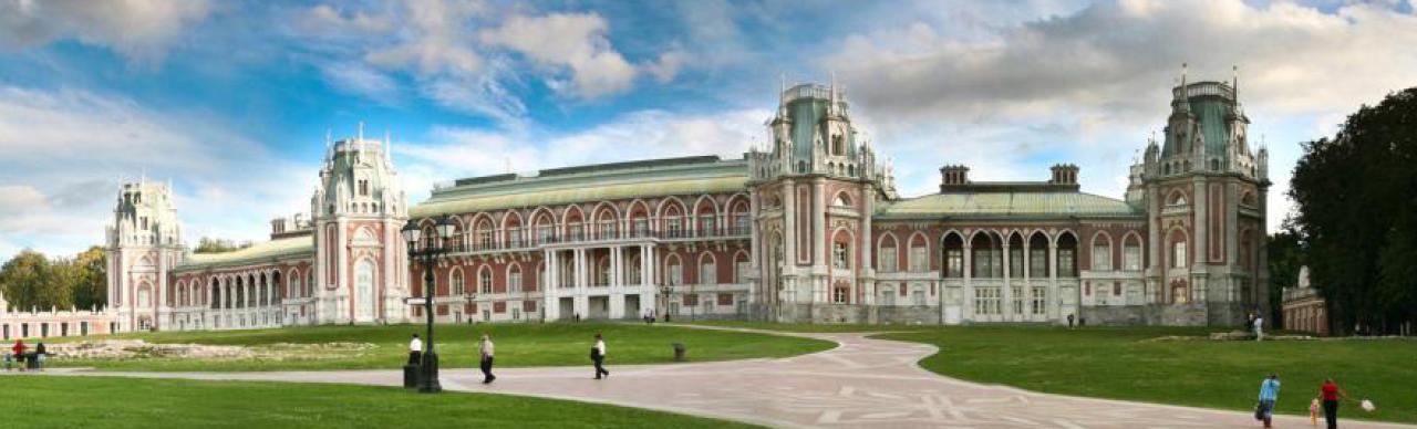 Der Zarizyno-Schlosspark befindet sich im Süden der russischen Hauptstadt Moskau etwa 18 km vom Stadtzentrum entfernt (Foto: © Zarizyno-Schlosspark)