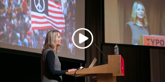 Flashback Tuesday:  Paula Scher, TYPO London 2012