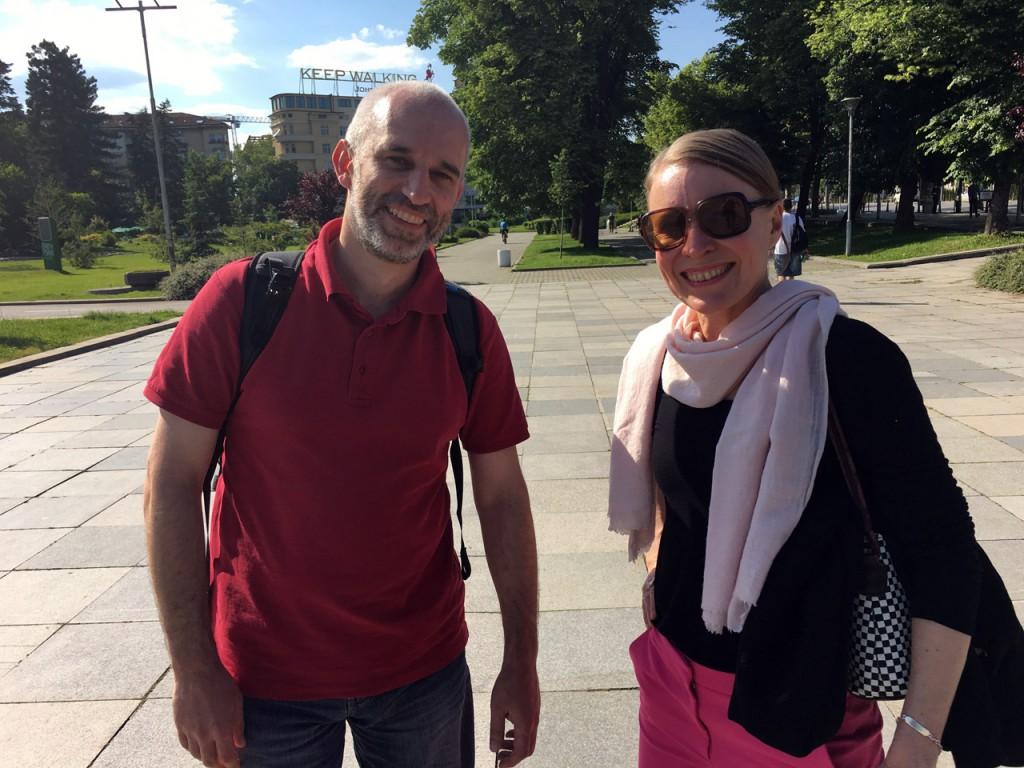 Boril Karaivanov & Sonja Knecht in Sofia 2016