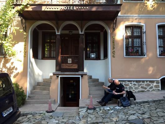Lucas de Groot und Thomas Milo in Plovdiv 2016 TYPOFEST