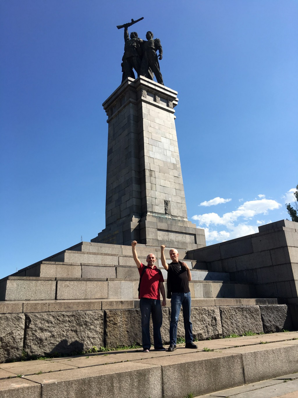 Two monuments – Boril Karaivanov & Lucas de Groot in Sofia 2016