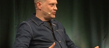 SHORT VIDEO: Jonathan Barnbrook, TYPO Berlin 2016
