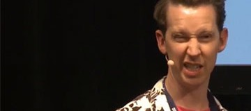 SHORT VIDEO: Mr Bingo, TYPO Berlin 2016