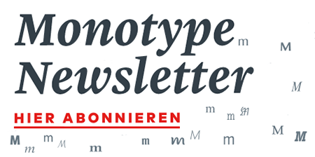 Monotype Newsletter Fontblog Link