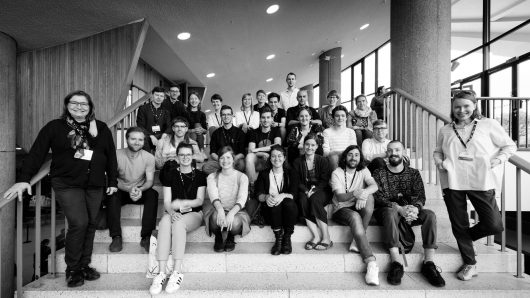 DE: Das Editorial-Team der TYPO Berlin 2017
