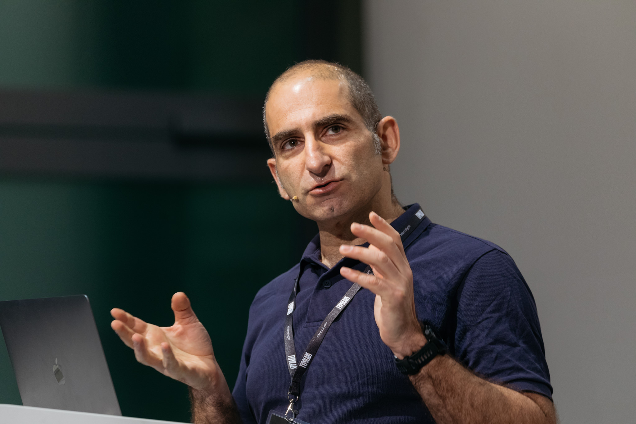 Gerry Leonidas at TYPO Labs 2018